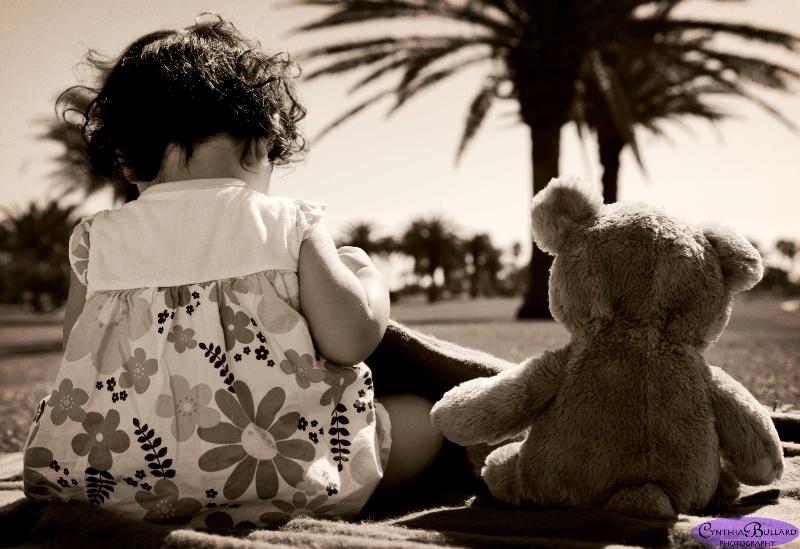 I left my heart with . . . Teddy