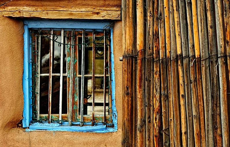 Sticks and a Window