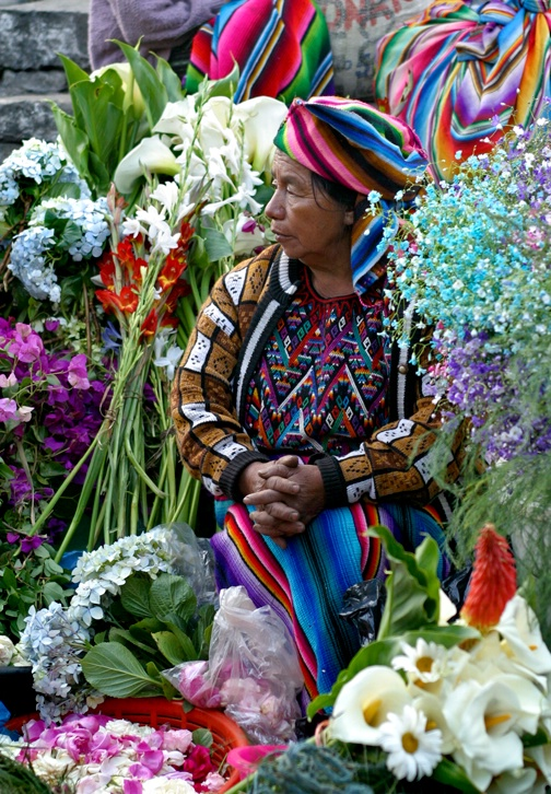 Holy Week Flower Market - ID: 12266153 © Stacey J. Meanwell