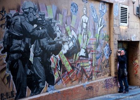 Shooting - Graffiti Lanes Melbourne