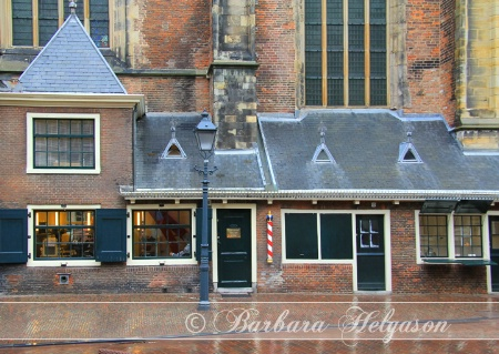 The Barber shop. Haarlem, the Netherlands.