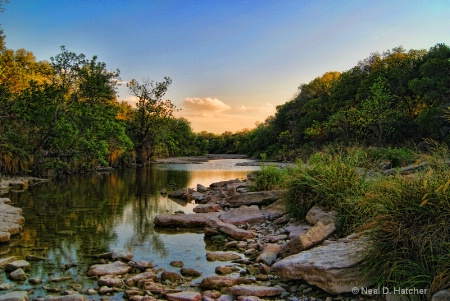 The End Of The Day-Paluxy River-Somerville Co-Tx