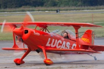 Mike Wiskus Taxiing in The Pitts S-1