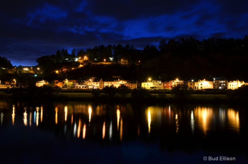 Night View Accross the Mosel River