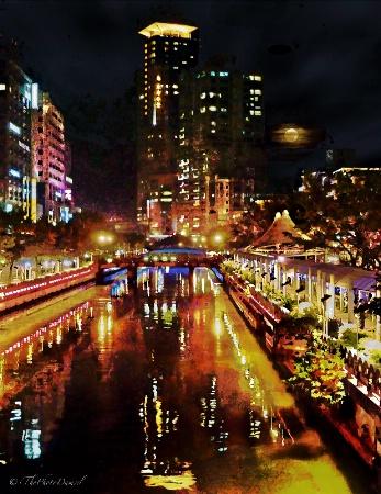 Keelung Harbor Nights