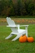 Chair w/ pumpkins