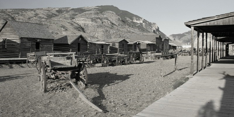 Old Trail Town, Wyoming - ID: 12301889 © Jannalee Muise
