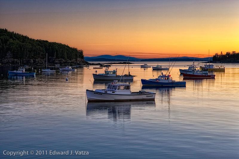 Lobster Fleet at Dawn
