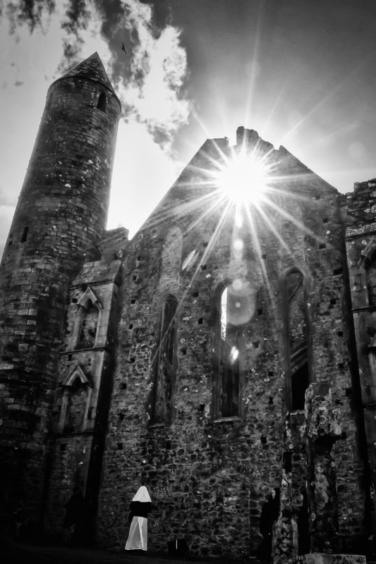 Blessings from Above- The Rock of Cashel, Ireland