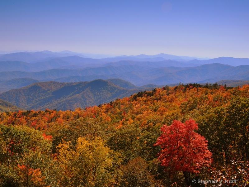 Blue Ridge Parkway Colors