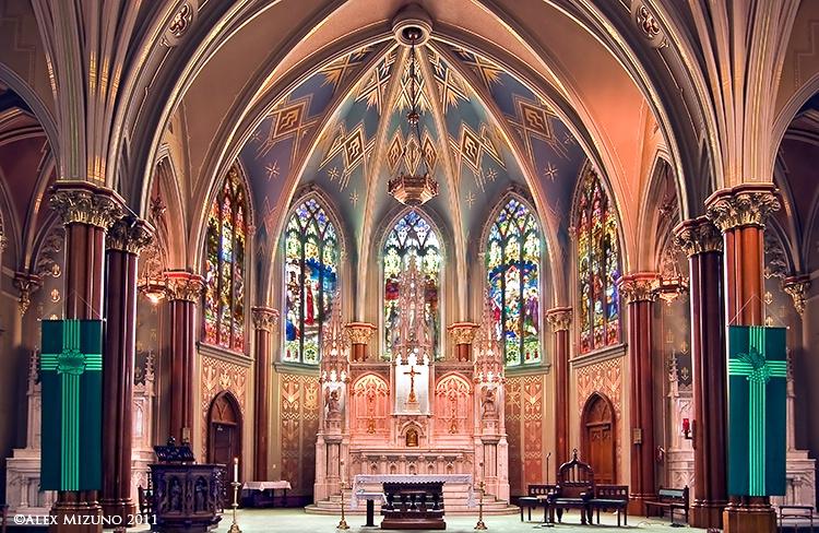 ALTAR OF ST. PAUL