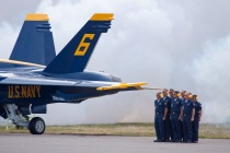 Blue Angels Pre-Flight Smoke Check
