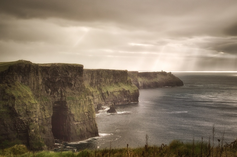 Here comes the sun?-Cliffs of Moher