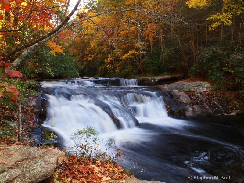 Upper Bald River Falls