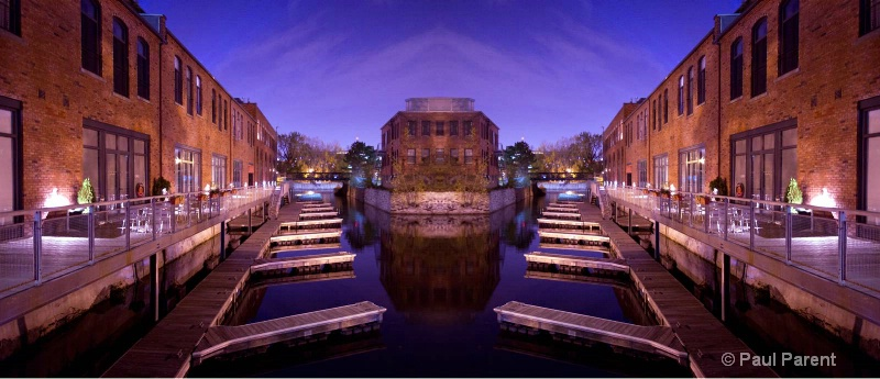 The Small Marina - ID: 12399672 © paul parent