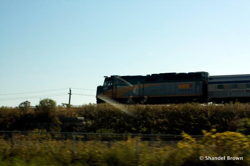 Fast as a speeding train