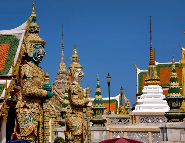 The Fabled Spires of the Grand Palace - ID: 12406983 © Stacey J. Meanwell