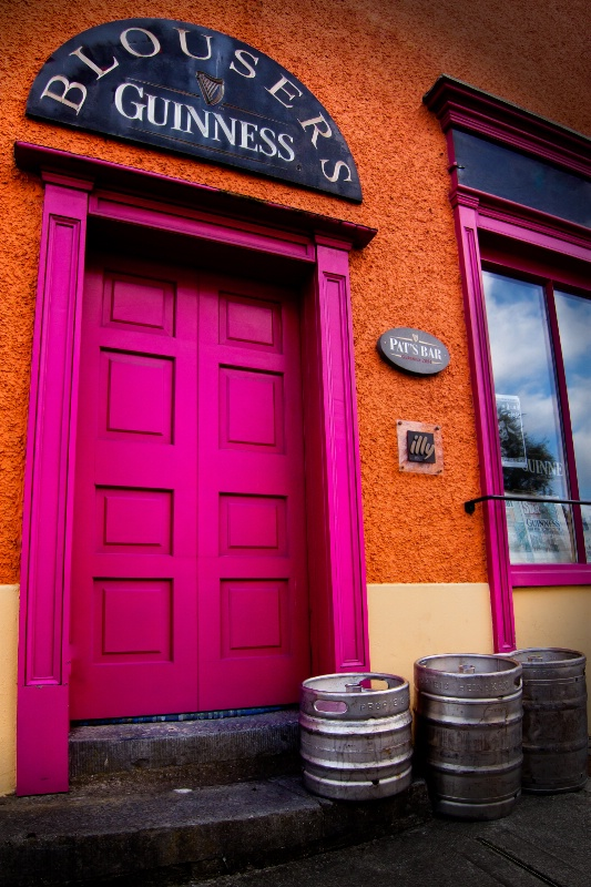 Time for a Guinness at Pat's -Westport Ireland