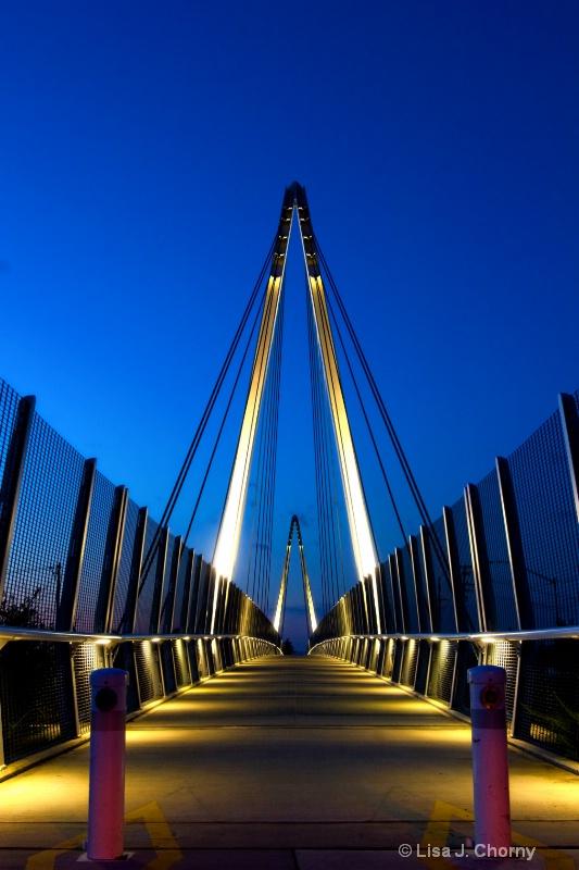 Across the Footbridge