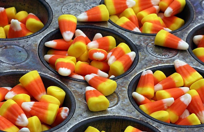 Cups O' Candy Corn