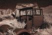 Old car in Infare...