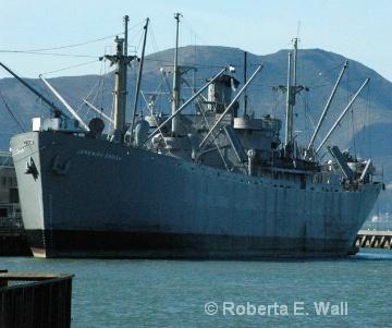 Navy boat in SF Bay - ID: 12441046 © Roberta E. Wall