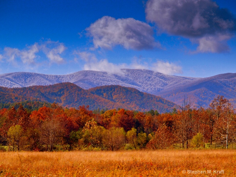 Changing Seasons in Cades Cove
