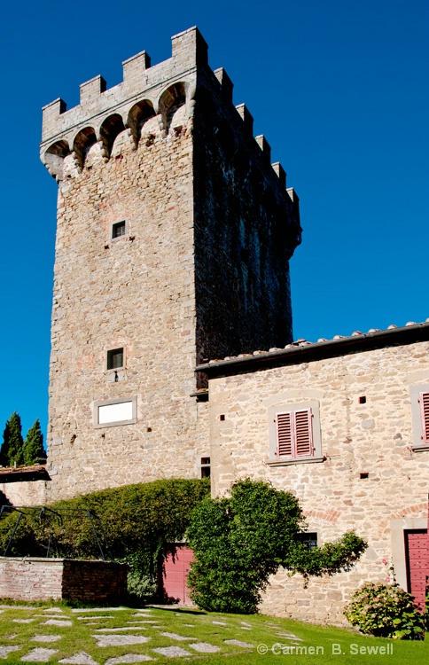 Castello di Gargonza Tower - ID: 12483062 © Carmen B. Sewell