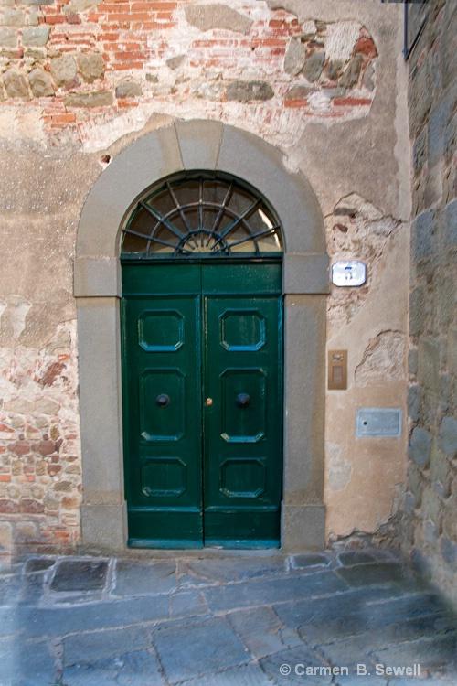 Door to # 3 - ID: 12483067 © Carmen B. Sewell