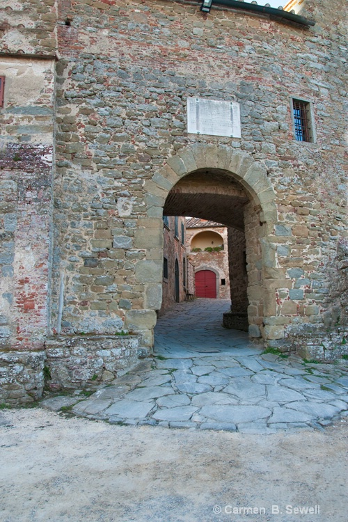 Castle entrance - ID: 12483070 © Carmen B. Sewell