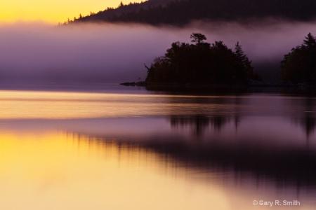 Sunrise Fog and Glow