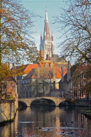 Morning in Brugge