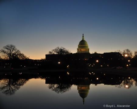 Capitol at Dawn