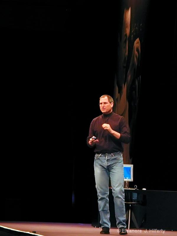 Steve Jobs, MacWorld 2000 - ID: 12508057 © Eleanore J. Hilferty