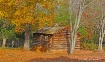 log building at a...