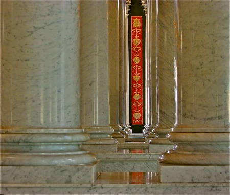 Pillars in Library of Congress