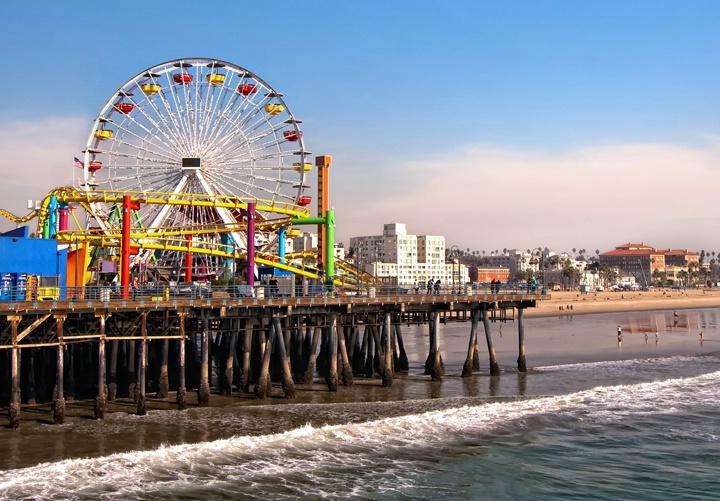 Santa Monica Sunday