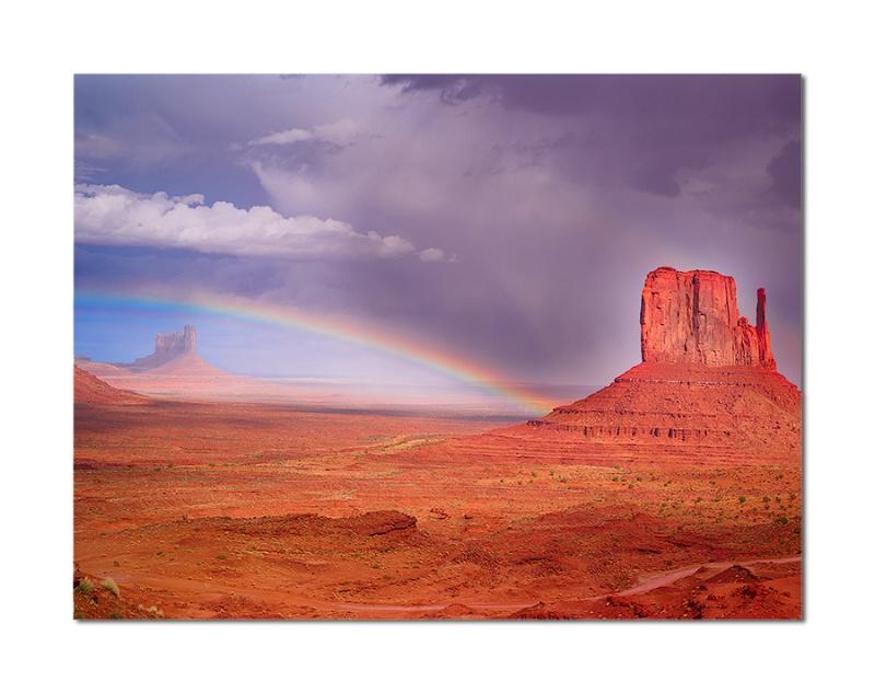 Monument Valley Rain Bow - ID: 12548727 © Charles W. Stephens