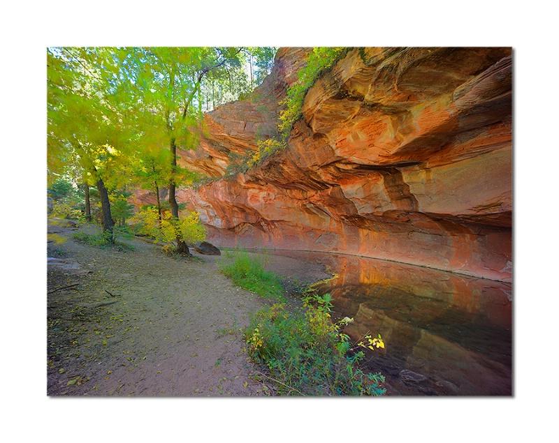 Oak Creek Canyon - ID: 12548728 © Charles W. Stephens