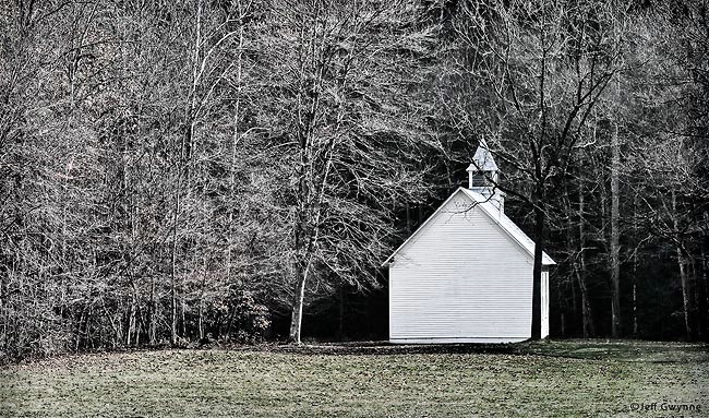 Church in the Wildwood - ID: 12555525 © Jeff Gwynne