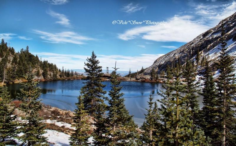 Bushnell lake at 11000 feet