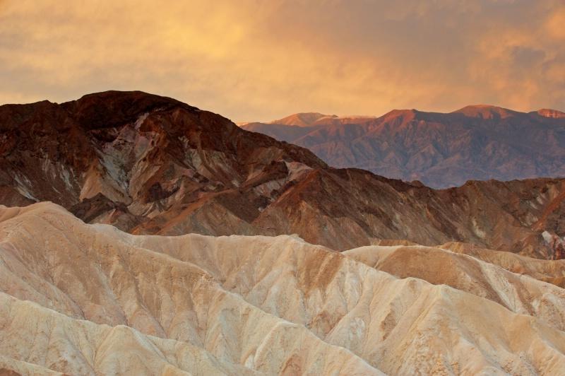 Sunrise from Zabriski Point, Death Valley