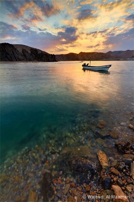 SunSet from Yaiti, Oman