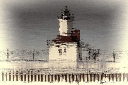 Lighthouse in Chiffon!