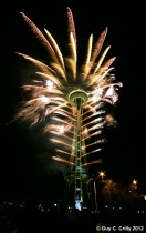 Space Needle New Year