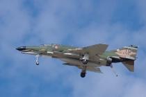 F-4 Phantom II in Trap Landing Configuration