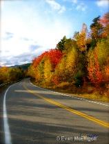 open roads white mountains