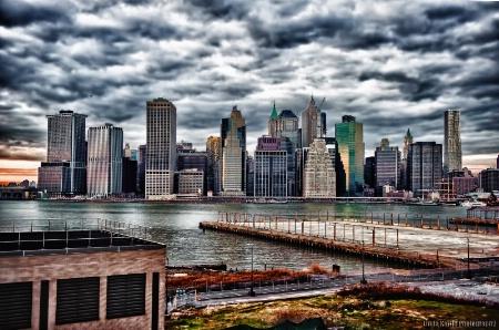 Downtown Manhattan at Dusk