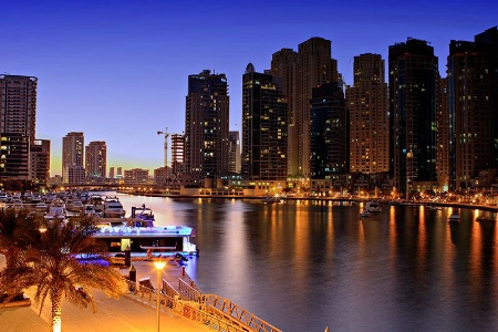 Dubai Blue Hour