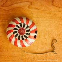 Individual antique yo-yo